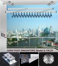 Giàn Phơi Thông Minh Singapore S-19C2F