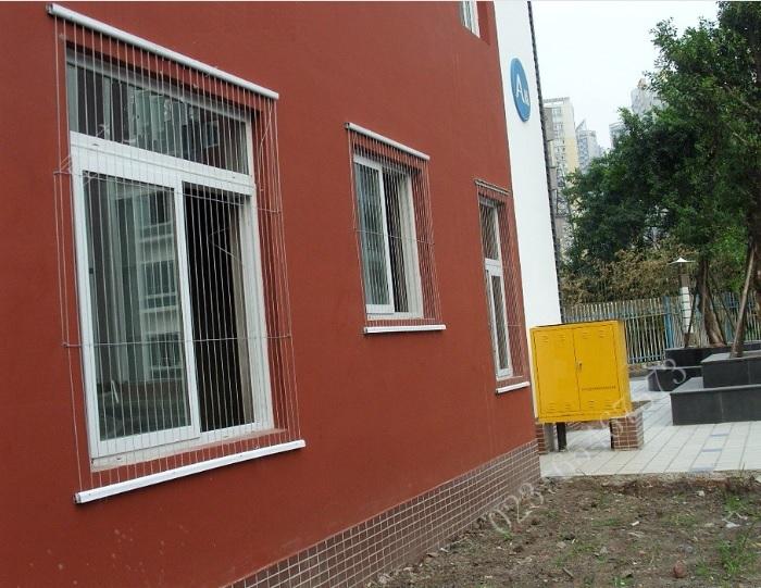 Lắp lưới an toàn cửa sổ đẹp