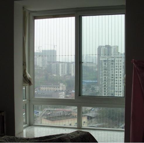 Lắp đặt lưới an toàn cửa sổ đẹp